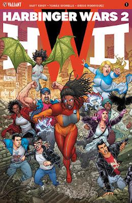 Ventas USA de los cómics del Universo Valiant en mayo 2018