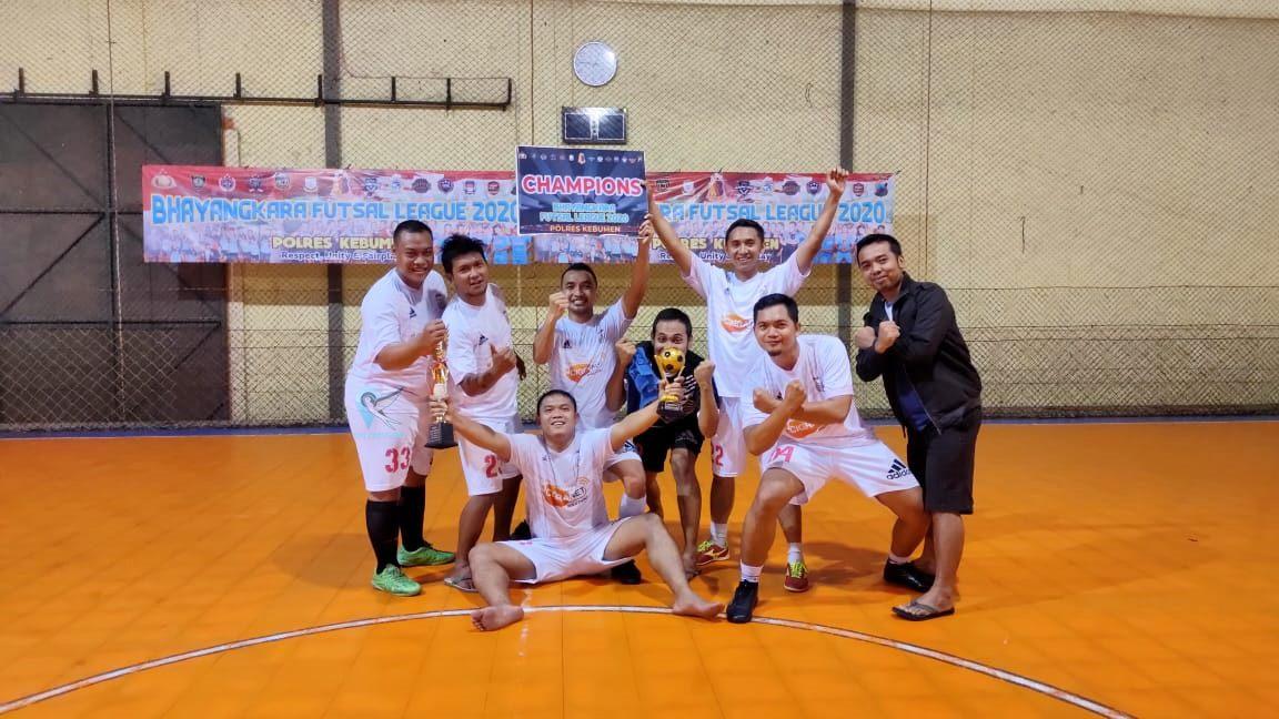 """ZN 2009 Bawa Pulang Piala Juara """"Bhayangkara Futsal League 2020"""""""