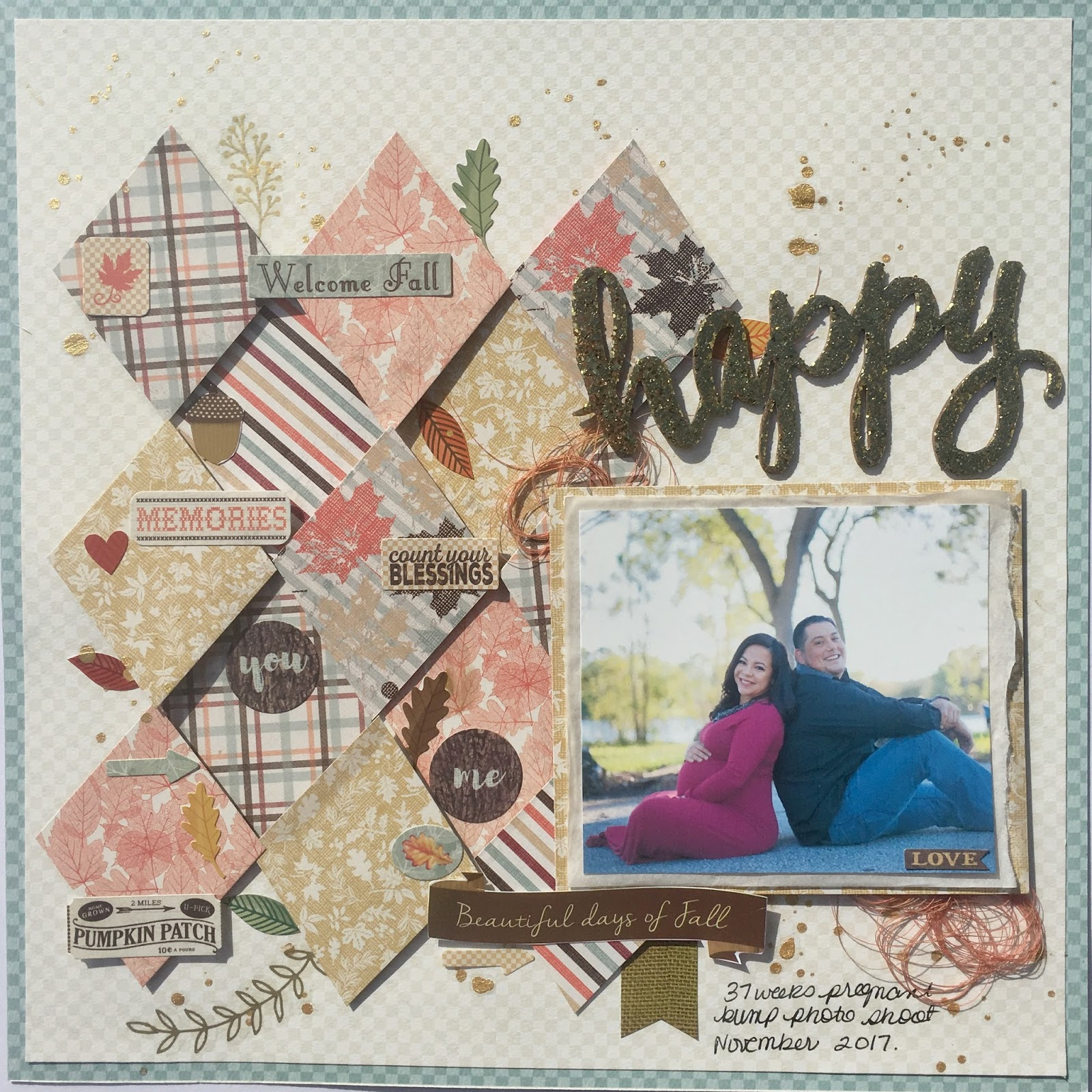 Happy Scrapbookingstore November Kit Life With Evi