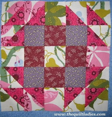 English Wedding Ring Quilt Pattern