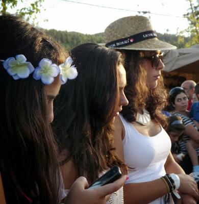 Participantes da Festa do Caldo de Quintandona