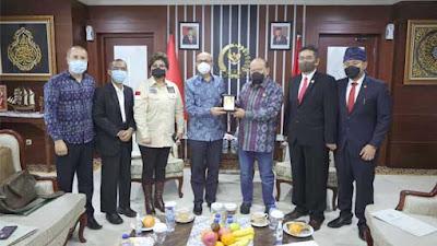 Ketua DPD RI Sambut Baik Ide Sister Province Dubes Maroko