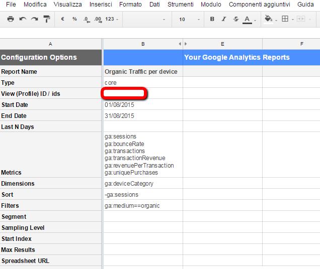 Google Analytics Report - 2
