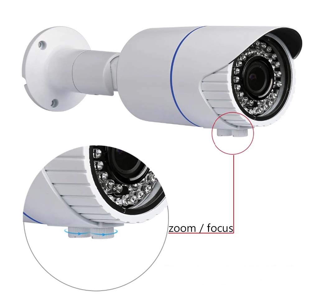 How to Zoom in Varifocal Security Cameras