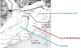 "Isla fluvial de la ""Illa de Banyols"""