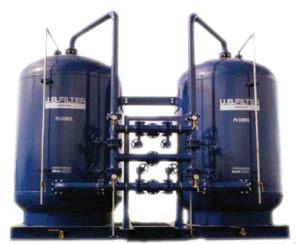 محطة فلترة الماء من الطعم والرائحة والكلور