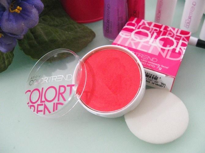 Blush Laranja Radiante Avon Color Trend