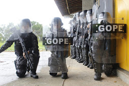 Gope recebe novo fardamento visando melhorias no trabalho tático da unidade
