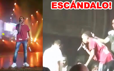 Video escandaloso de Ozuna golpeando a un seguridad