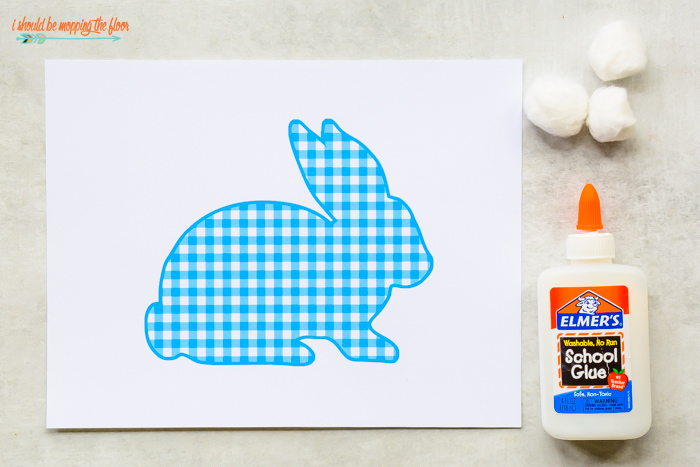 Free Bunny Outline Printables