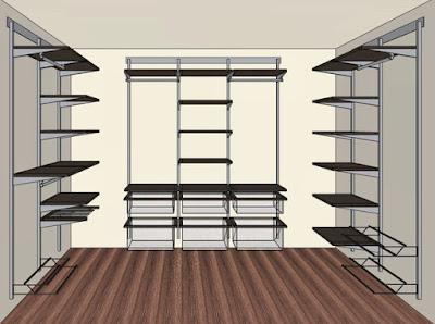 Заказать гардеробную комнату в квартиру Волгоград