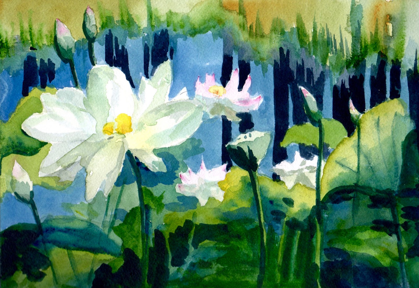 What I See Lotus Flowers