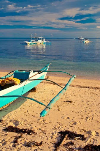 10 Most Famous Travel Destinations In Philippines | Bounty Beach, Malapascua Island ,Philippines