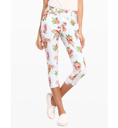 floral cotton pant monsoon fashion