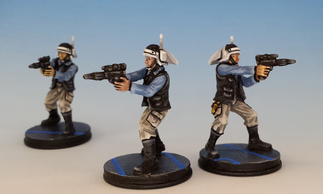 Rebel Troopers, Imperial Assault FFG (2014, sculpted by Benjamin Maillet)