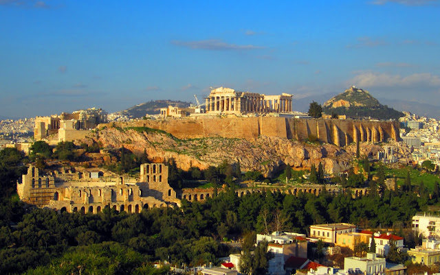 La Acrópolis y Atenas