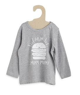 camiseta gris kiabi