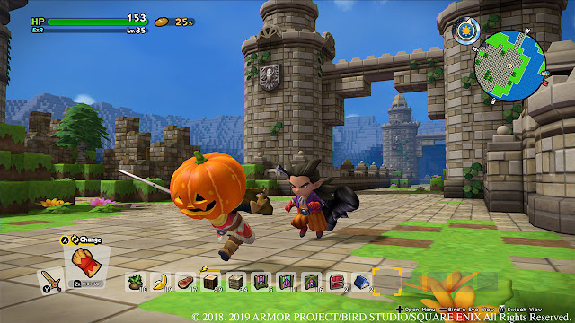 Dragon Quest Builders 2 how many islands