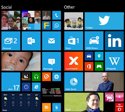Mobile Development: What Windows Phone Start screen should learn/inherit from Windows 8.1