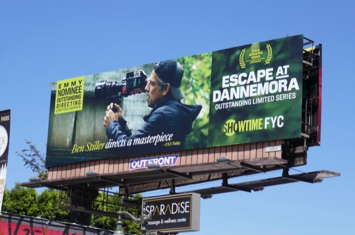 Ben Stiller Escape at Dannemora Emmy nominee billboard