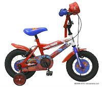 Sepeda Anak Wimcycle BMX Superman 12 Inci