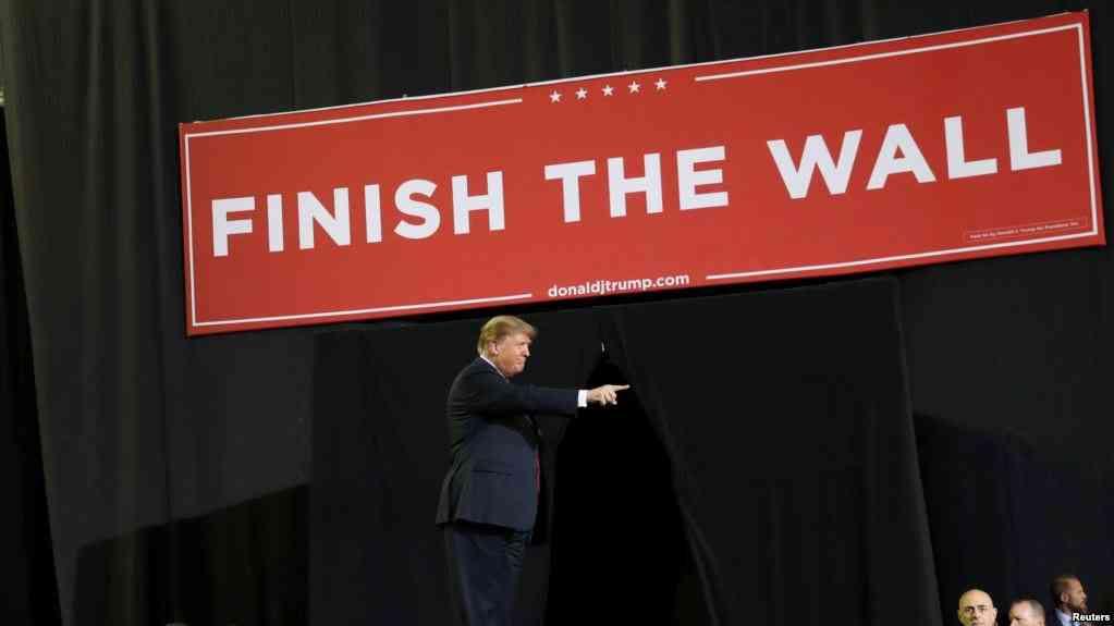 El presidente Trump durante un mitin en El Paso, Texas / REUTERS