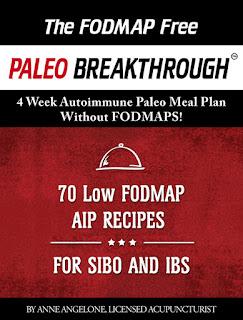 régime pour le SIBO et IBS