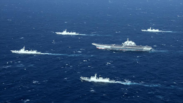 China comienza maniobras militares ante tensión con EEUU