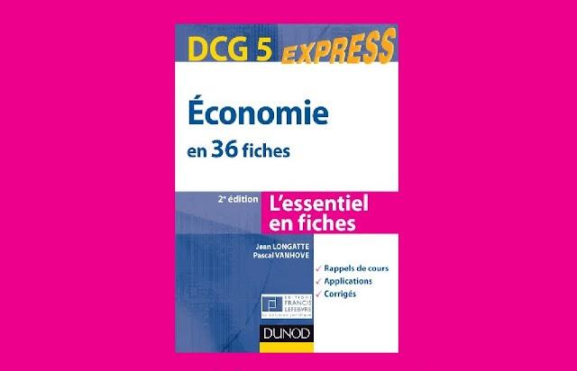 DCG 5 Économie en 36 Fiches PDF