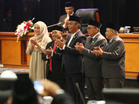 Prasetio Edi Marsudi  Kembali Terpilih Jadi Ketua DPRD DKI Jakarta 2019-2024