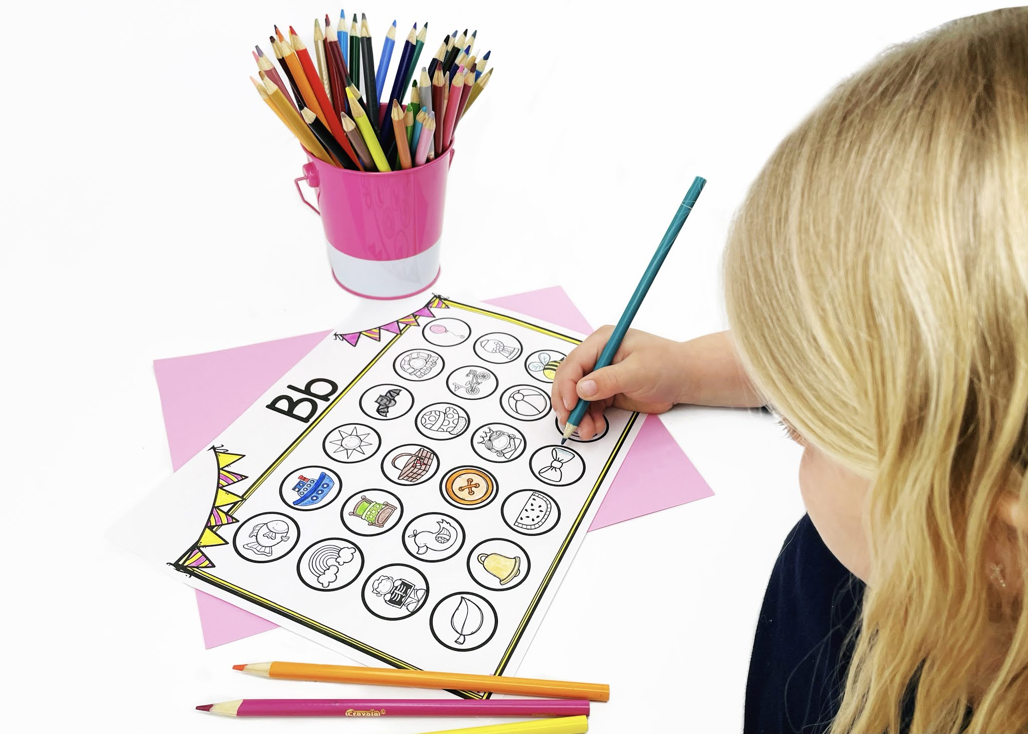 Guided Reading Beginning Sounds Activity Mat