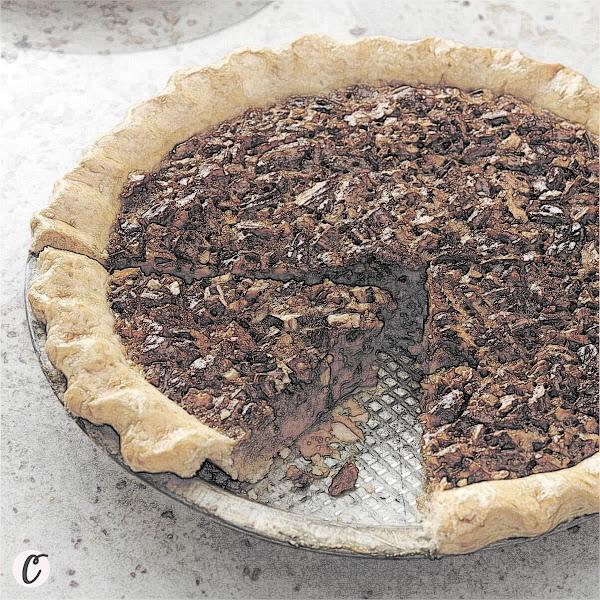 Caramel Pecan Pie 🥧