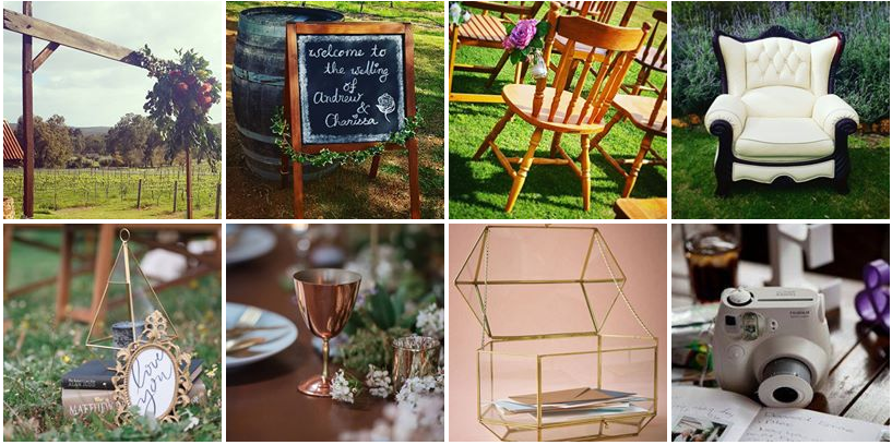 styling decor essentials bohemian wedding perth to the aisle little miss vintage junglespirit Image collections