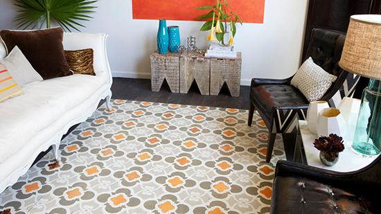 inspirasi keren desain keramik lantai rumah minimalis