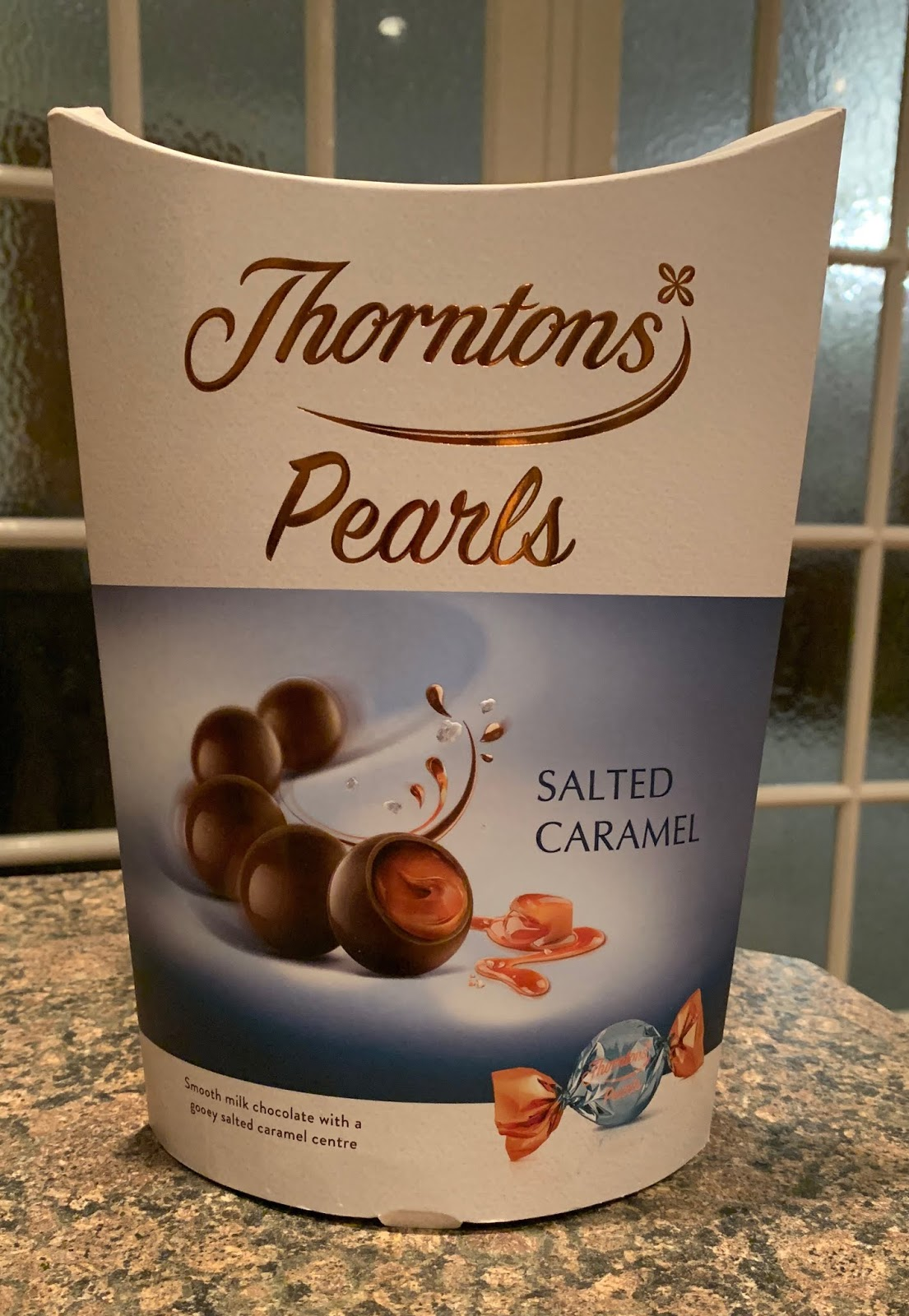Foodstuff Finds Thorntons Pearls Salted Caramel Thorntons