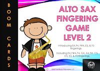 Alto Sax - Level 2