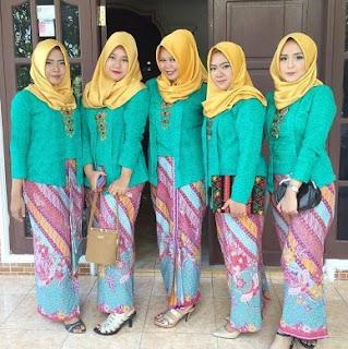 41 Model Kebaya Kutu Baru Modern Muslim Hijab Untuk