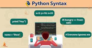 Syntax क्या है और python के Syntax क्या है । Python Syntax