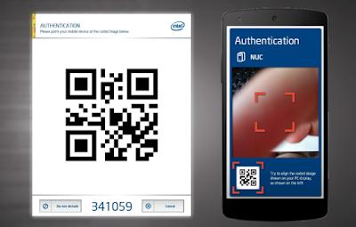 Gunakan Android As Mouse dan Keyboard QR Code