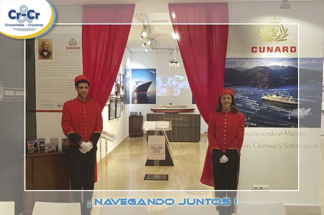 EXPOSICIÓN DE CUNARD LINE, SUS 178 AÑOS DE HISTORIA Y EL MÍTICO QUEEN MARY 2 EN MADRID