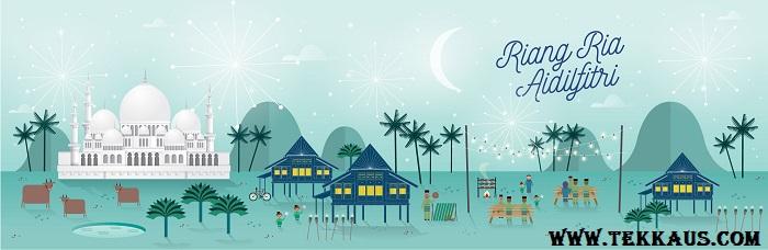 Selamat Hari Raya Aidilfitri Virtual Greeting Cards