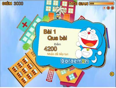 Chơi game Nobita cứu thế giới hay nhất