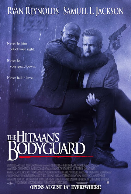 Poster of The Hitmans Bodyguard 2017 In English DD5.1 720p HDRip ESubs Download