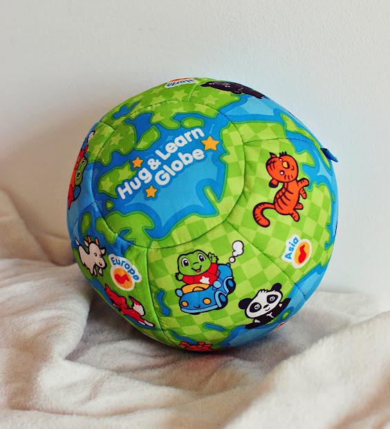 Mama Papa Drop Leap Frog Hug & Learn Animal Globe