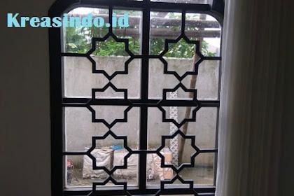 Teralis seni Klasik ini Cocok untuk Rumah Bergaya Timur Tengah atau untuk Teralis Masjid