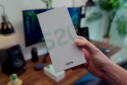 Series Samsung S20 Paling Murah dengan Spesifikasi yang Tak Kalah - Samsung Galaxy S20 FE