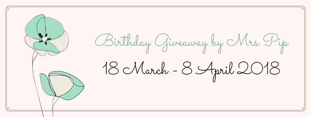 http://www.mrspip.com/2018/03/birthday-giveaway-by-mrs-pip.html