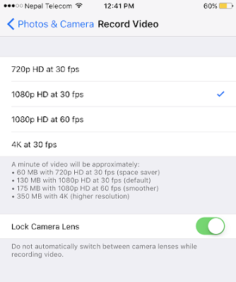 Apple has added a Lock Camera Lens feature in the setting which avoids your iPhone 7 Plus from automatically switching lenses during video recording