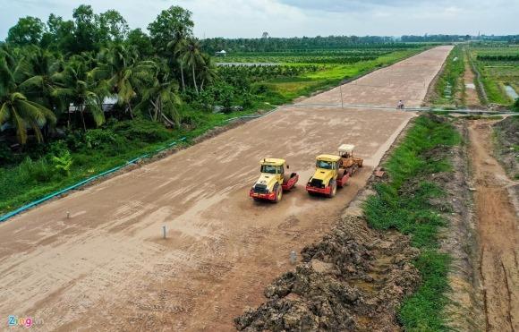 Cao tốc Trung Lương – Mỹ Thuận sau 10 năm khởi công 14