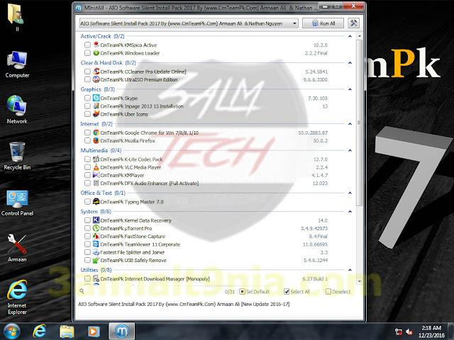 Windows 7 {Happy New Year Edition - عالم التقنيه